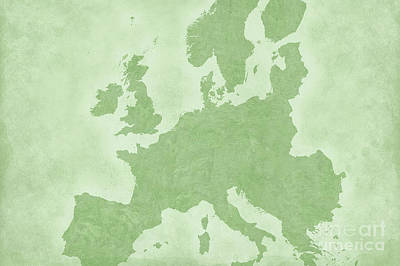 Europe Poster by Tina M Wenger