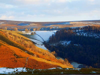 Evening At The Horseshoe Pass Poster by Brainwave Pictures