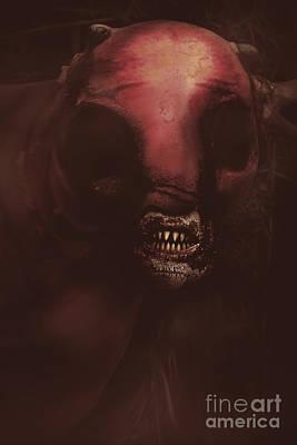 Evil Greek Mythology Minotaur Poster by Jorgo Photography - Wall Art Gallery