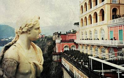 Excelsior Vittoria Sorrento Poster by Diana Angstadt