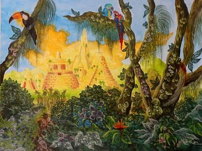 Exploring The Amazon Poster by Gabriel Cajina
