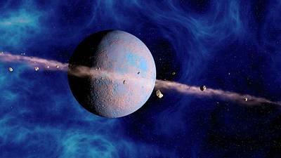 Extrasolar Planet Poster by Joe Tucciarone