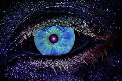 Eye In The Sky Poster by Joann Vitali