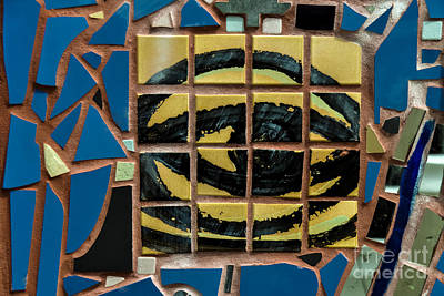 Eye Tile Art Graffiti Poster by Gary Keesler