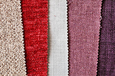 Fabric Swatch Poster by Tom Gowanlock