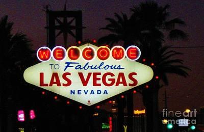Fabulous Las Vegas Poster by John Malone