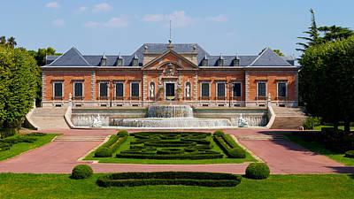 Facade Of A Palace, Palauet Albeniz Poster by Panoramic Images