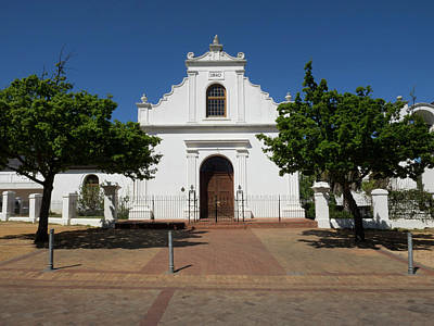 Facade Of Rhenish Mission Church Poster by Panoramic Images