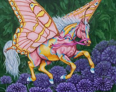 Faery Horse Hope Poster by Beth Clark-McDonal