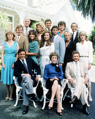 Falcon Crest  Poster by Silver Screen