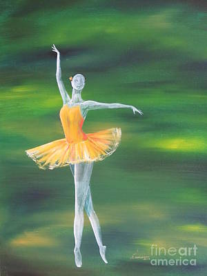 Fall Dancer 3 Poster by Laurianna Taylor