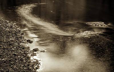 Fall Drift Poster by Geoffrey Baker
