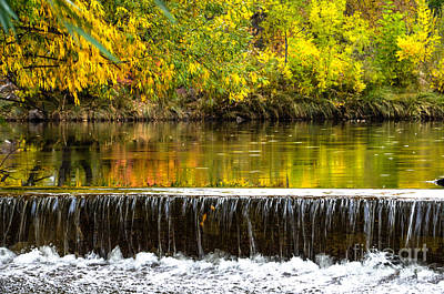 Fall Falls Poster by Baywest Imaging