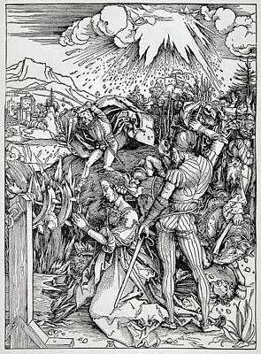 Falling Of The Ensisheim Meteorite Poster by Detlev Van Ravenswaay