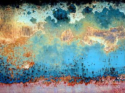 Falling Rain Poster by Marcia Lee Jones