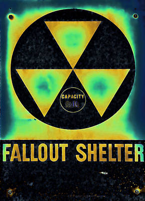 Fallout Shelter Abstract 2 Poster by Stephen Stookey
