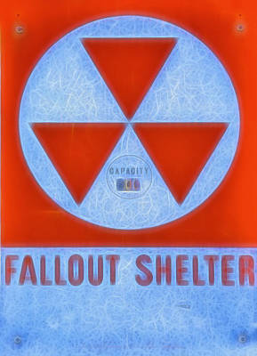 Fallout Shelter Abstract 9 Poster by Stephen Stookey