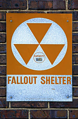 Fallout Shelter Poster by Stephen Stookey