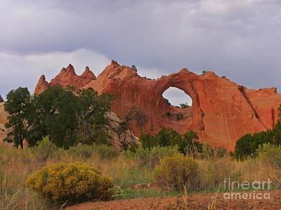 Famous Window Rock Arizona Poster by John Malone