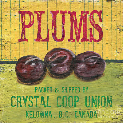 Farm Fresh Fruit 4 Poster by Debbie DeWitt