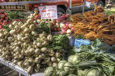 Farm Fresh Vegetables Poster by Spencer McDonald
