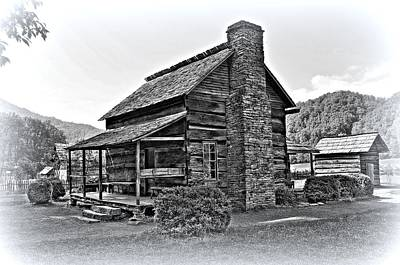 Farm House 1 Poster by Todd Hostetter