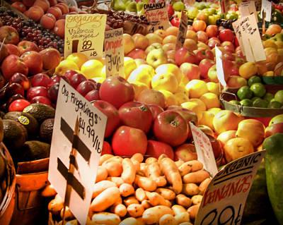 Farmers Market Poster by Karen Wiles