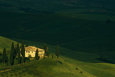 Farmhouse Tuscan Poster by Andrew Soundarajan