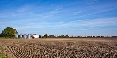 Farming Landscape Poster by Tom Gowanlock