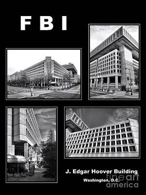 Fbi Poster Poster by Olivier Le Queinec