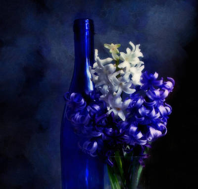 Feeling Blue Poster by Georgiana Romanovna