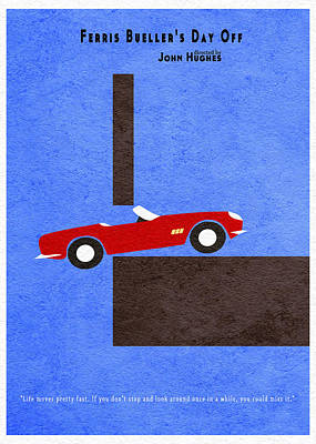 Ferris Bueller's Day Off Poster by Ayse Deniz