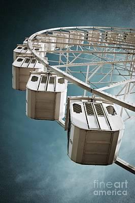 Ferris Wheel Poster by Carlos Caetano