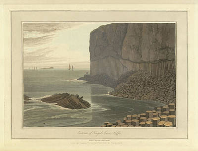 Fingal's Cave On Staffa Poster by British Library
