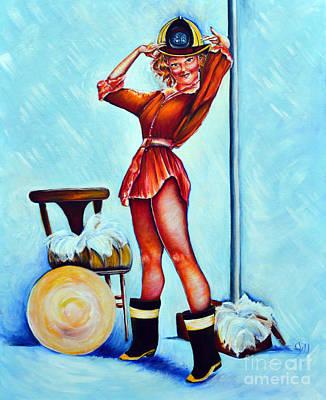 Fire House Siren Poster by Jill Weber