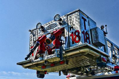 Fireman - The Fireman's Ladder Poster by Paul Ward