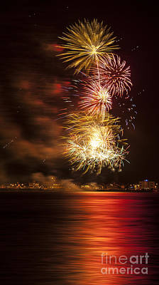 Firework 11 Poster by Svetlana Sewell