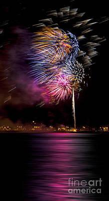 Firework 12 Poster by Svetlana Sewell