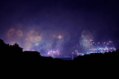 Fireworks Poster by Ugur Ugurlu