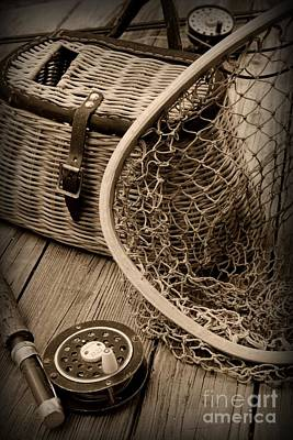 Fishing - All That Gear Poster by Paul Ward