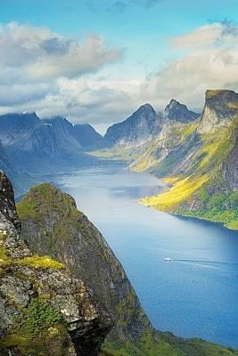 Fjord Poster by Maciej Markiewicz