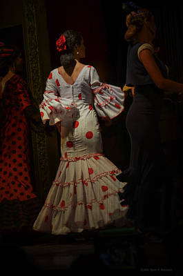 Flamenco Dancer #14 Poster by Mary Machare