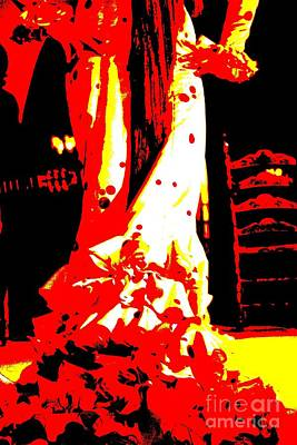 Flamenco Passion Poster by Sophie Vigneault