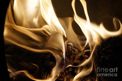 Flames Poster by Zori Minkova