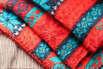 Fleece Blanket Poster by Tom Gowanlock