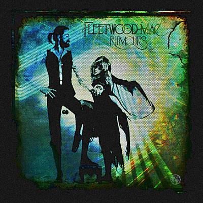 Gypsy Poster featuring the digital art Fleetwood Mac - Cover Art Design by Absinthe Art By Michelle LeAnn Scott