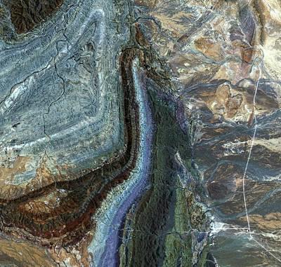 Flinders Ranges Poster by Jaxa/european Space Agency