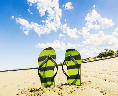 Flip Flop Stop Poster by Jorgo Photography - Wall Art Gallery