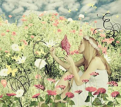 Flora Poster by Linda Lees