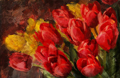 Floral 12b Poster by Mahnoor Shah